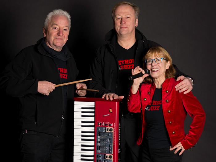 Moni, Chris und Reinhard 2017